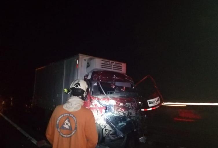 Accidente en el Tolima