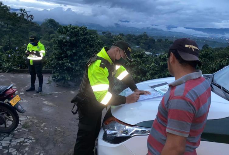 Policía Dotación Huila