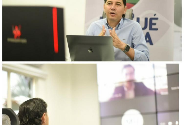 Alcalde de Ibagué Andrés Fabián Hurtado