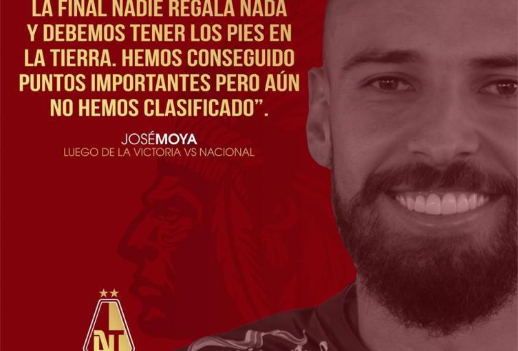 José David Moya Defensor Central del Deportes Tolima
