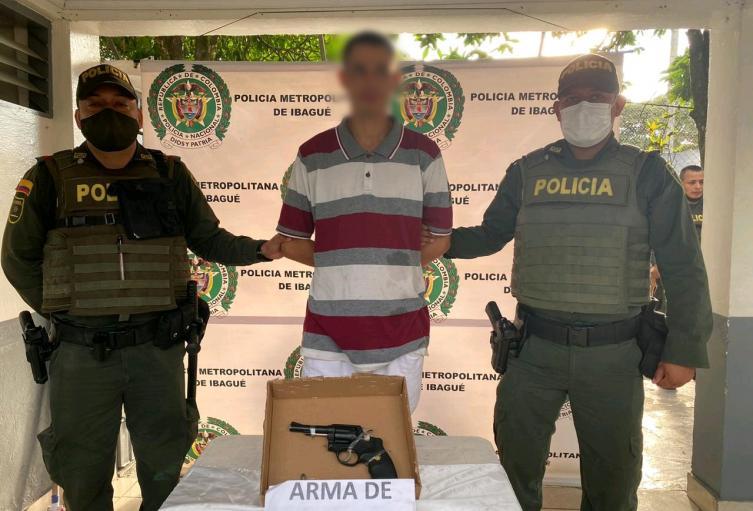 En cuarentena ladrón Salió a atracar con revolver en mano en el Jardín Santander