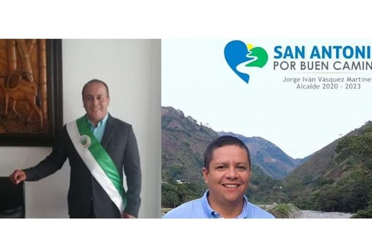 Alcaldes de San Antonio y Palocabildo