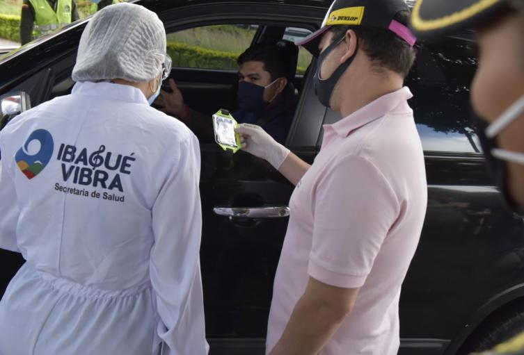 Operativos toque de queda en Ibagué