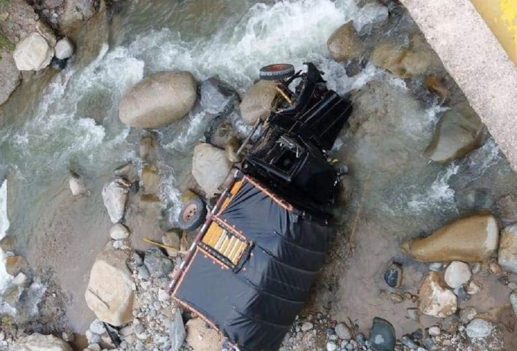 Accidente en Rioblanco