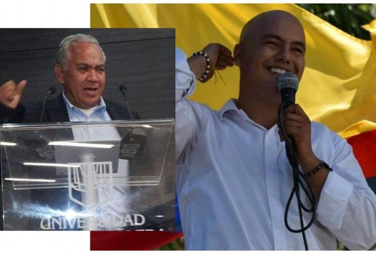 alcalde y exalcalde de Valle de San Juan