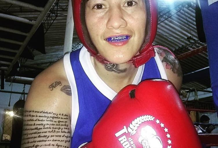 Boxeadora Jennifer Cáceres