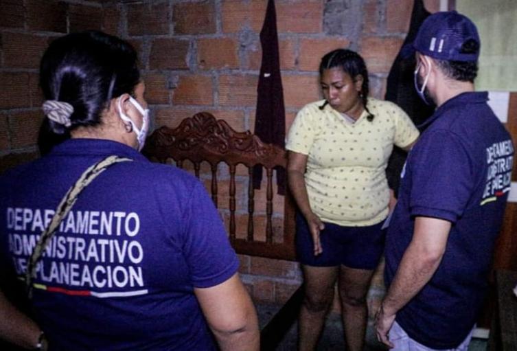 Emergencia que se presentó dentro de una vivienda en el barrio Rojas Pilla