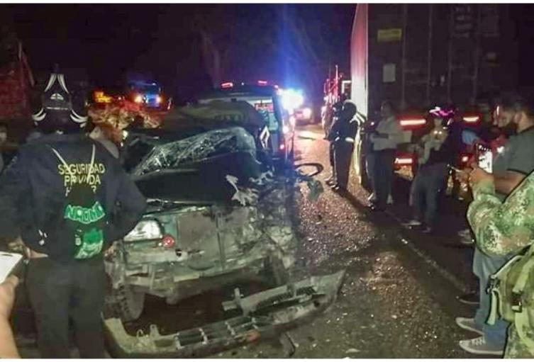 Accidente al norte del Tolima