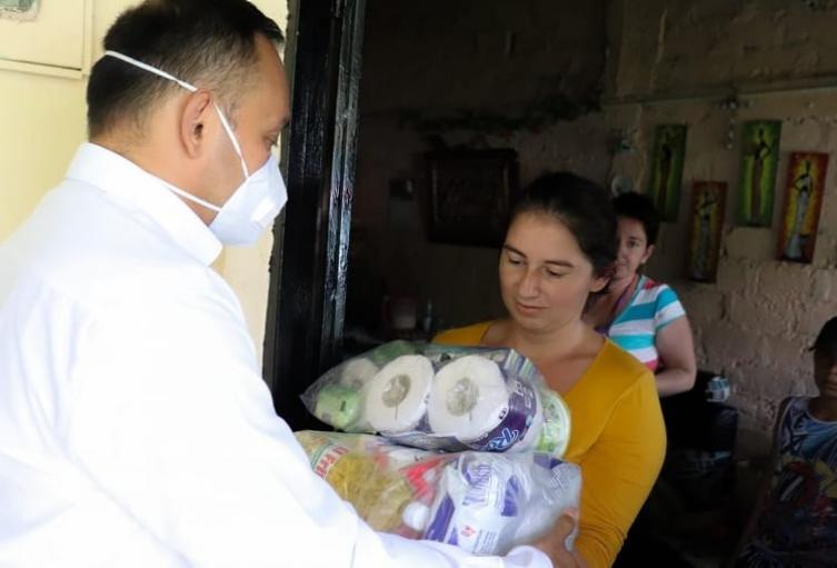 También se entregaran asistencias alimentarias del Gobierno Nacional para los adultos mayores de 70 años