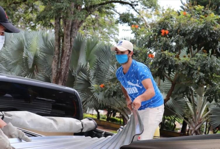 Habitantes de la vereda La Estrella en el municipio de Planadas, se vieron afectados por un vendaval