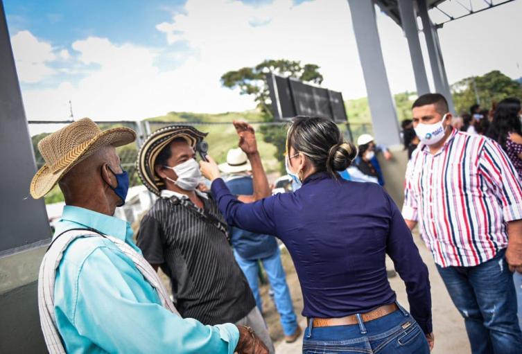 Unidad de Salud instalada en Tapias atiende a más de 2.000 campesinos