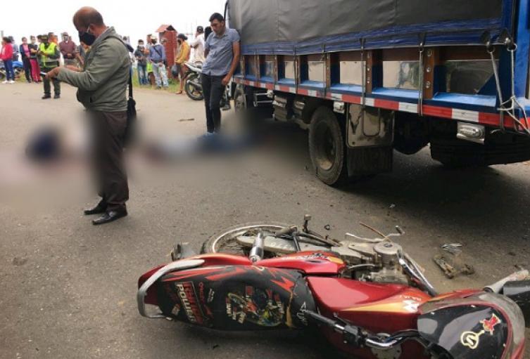 Accidente en Santa Isabel