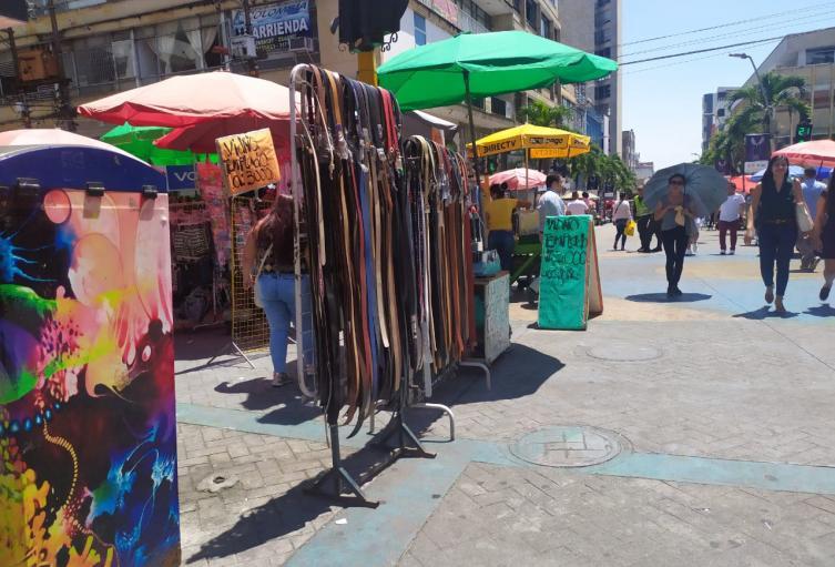 Vendedores informales de Ibagué