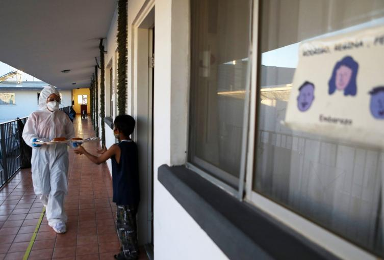 Niños contagiados con coronavirus / Coronavirus en niños