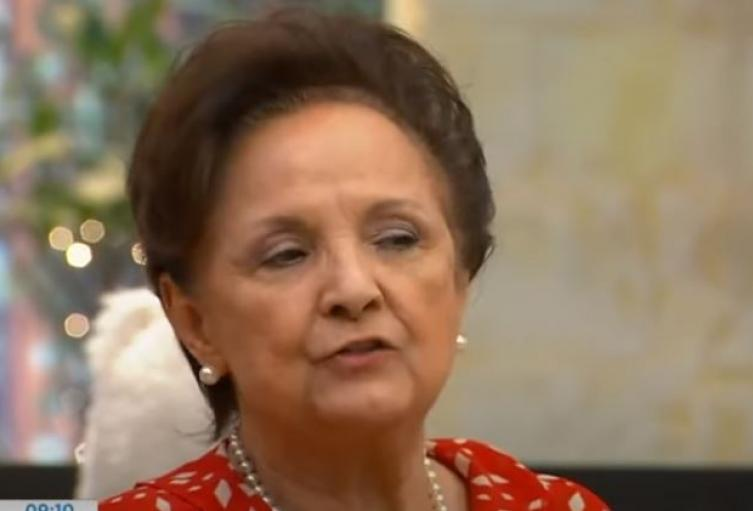 Actriz Judy Henríquez