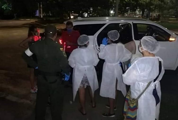 Se realizó el traslado de los menores de edad al centro de emergencia en la ciudad de Ibagué, por encontrarse en riesgo
