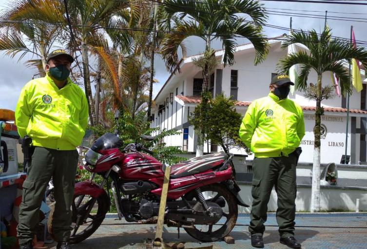 Recuperan motos en el Tolima