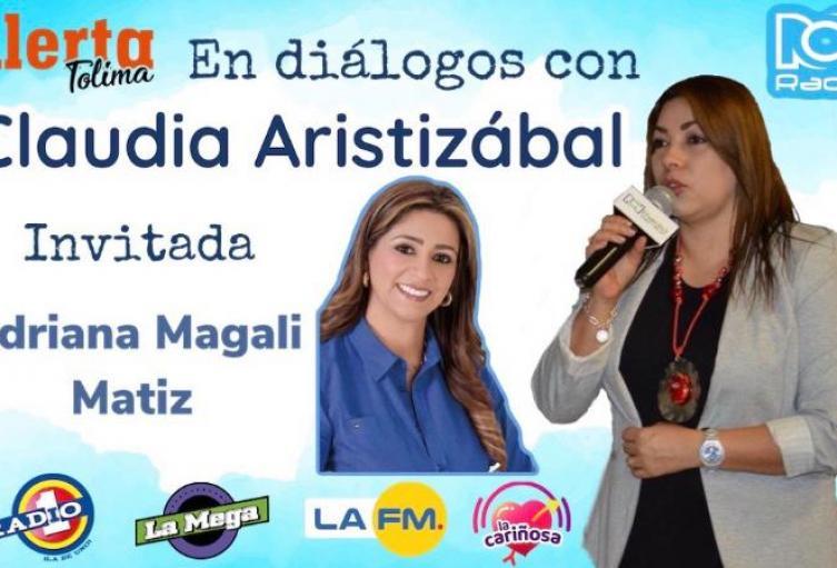 Representante a la Cámara Dra Adriana Magaly Matiz