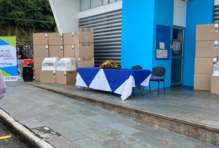 Unidades de salud de Ibagué recibieron 160 elementos para médicos de la ciudad