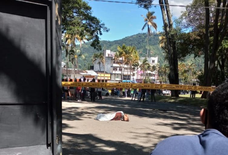 Homicidio en el centro de Ibagué