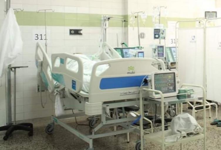 El Hospital Federico Lleras Acosta sede la Francia cuenta con 43 camas de cuidados intensivos de las cuales 39 se encuentran ocupadas