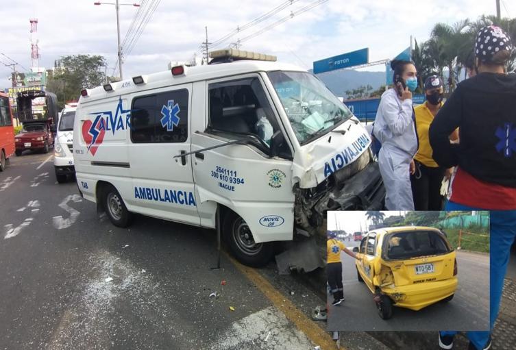 accidente ambulancia picaleña