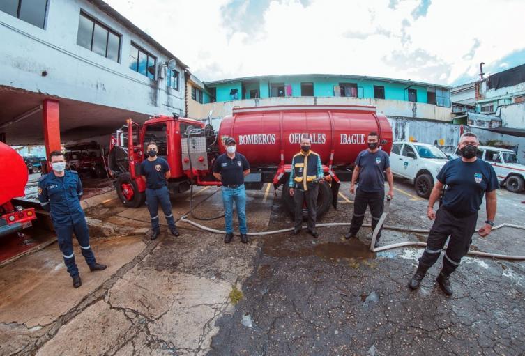 bomberos Ibagué