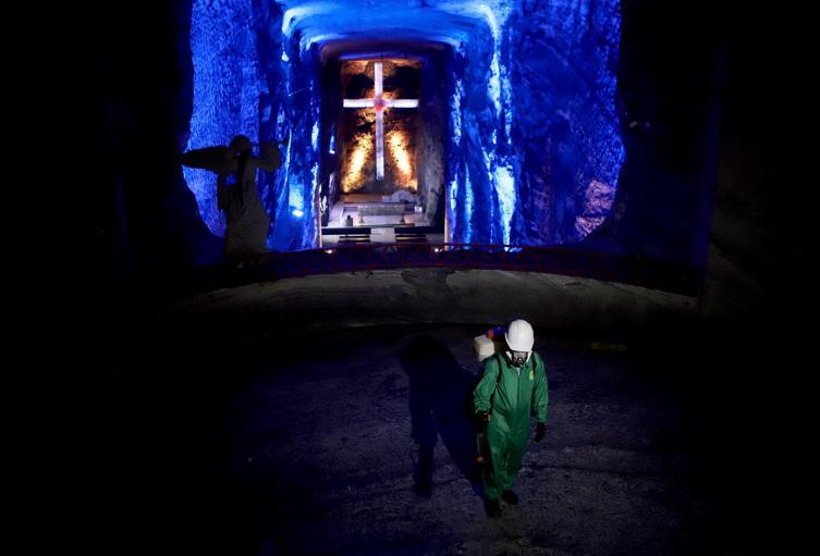 Catedral de Sal de Zipaquirá se prepara para abrir en pandemia