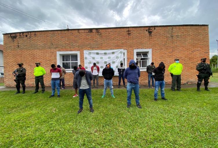 'Los Rumberos' por tráfico de estupefacientes a países  de Centro y Suramérica