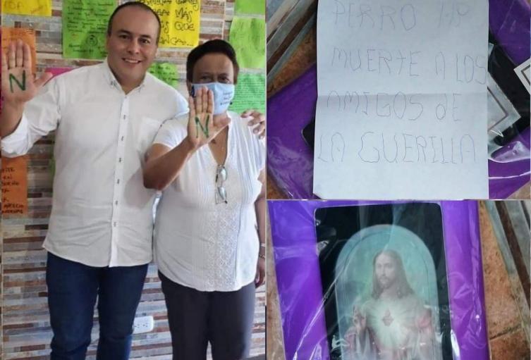 Amenazas alcalde Palocabildo