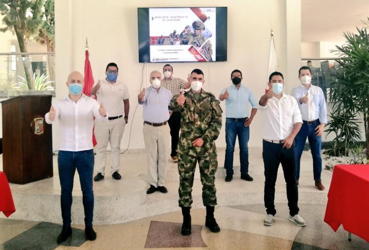 Taller de concejales con el Ejército en Ibagué