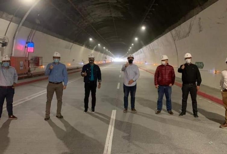 Se trata de un túnel de 8,65 kilómetros de longitud, cuya excavación arrancó en agosto de 2009 y sus obras finalizaron el 8 de febrero