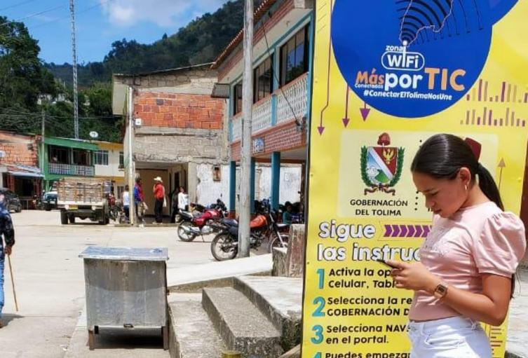 Zonas wifi Tolima Chaparral