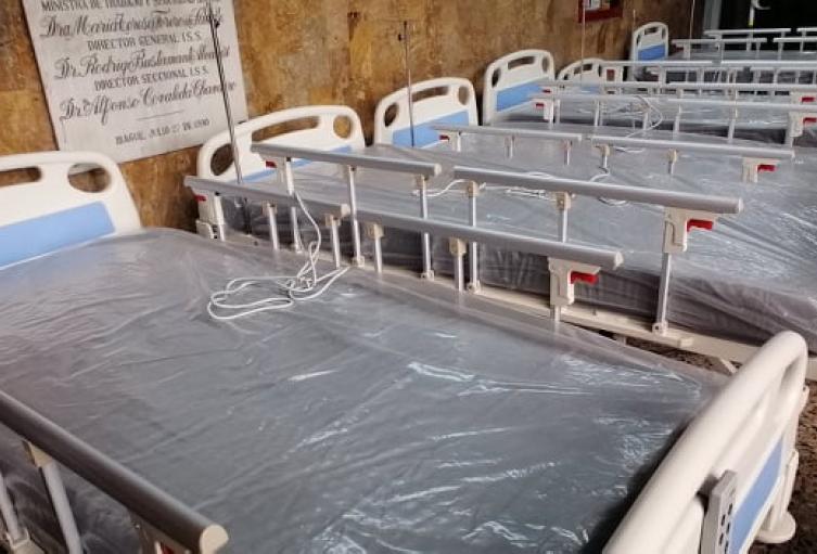 El Alcalde de Ibagué indicó que la ciudad está en una ocupación del 79% de camas de UCI