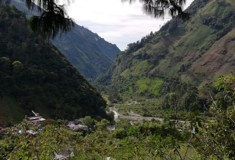 Cuenca del río Combeima