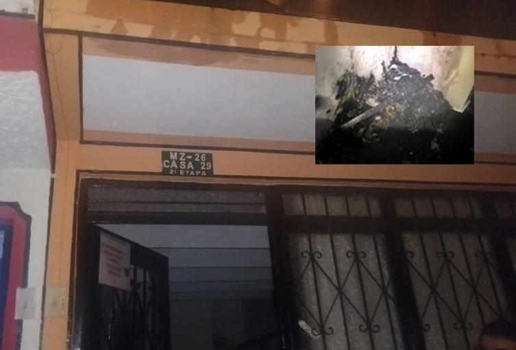 Por una veladora se incendió casa en la Ciudadela Bolívar de Ibagué