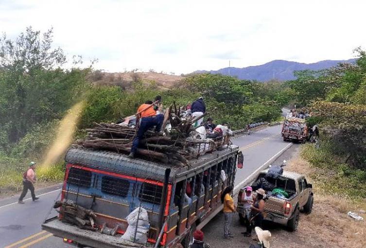 Minga indígena en Huila logra acuerdos con el Gobierno departamental