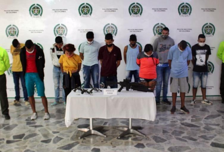 Capturaron a 15 integrantes de 'Los Arroceros' en Nueva Castilla