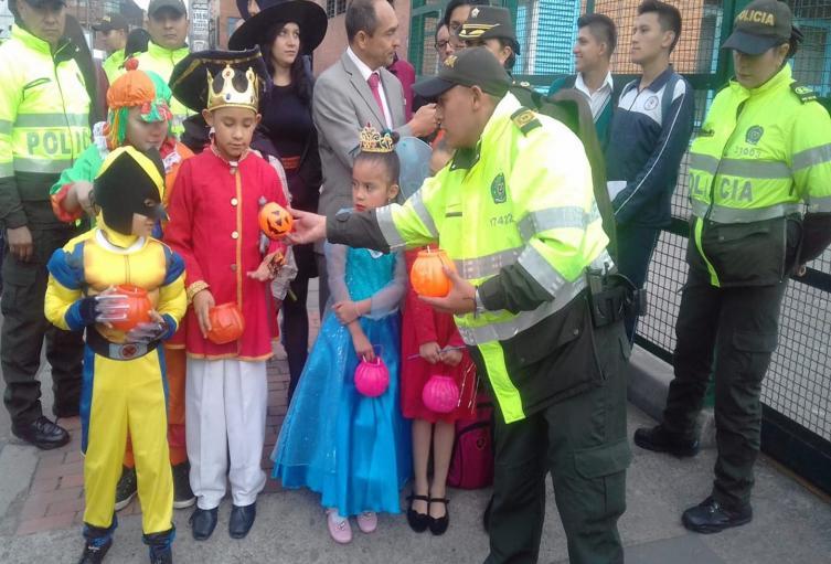 Niños halloween Ibagué