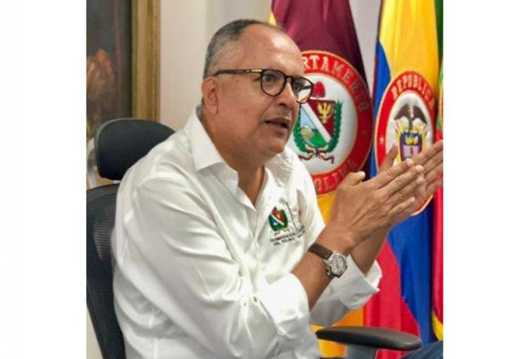 Óscar Barreto, exgobernador del Tolima