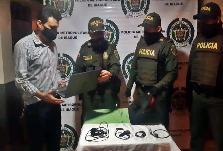 Recuperaron portátil robado en Ibagué