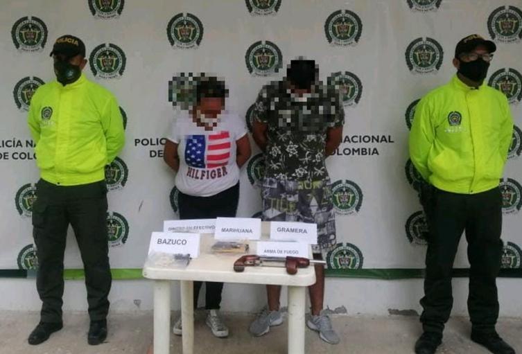 Tras allanamientos capturaron pareja de microtraficantes en Purificación – Tolima