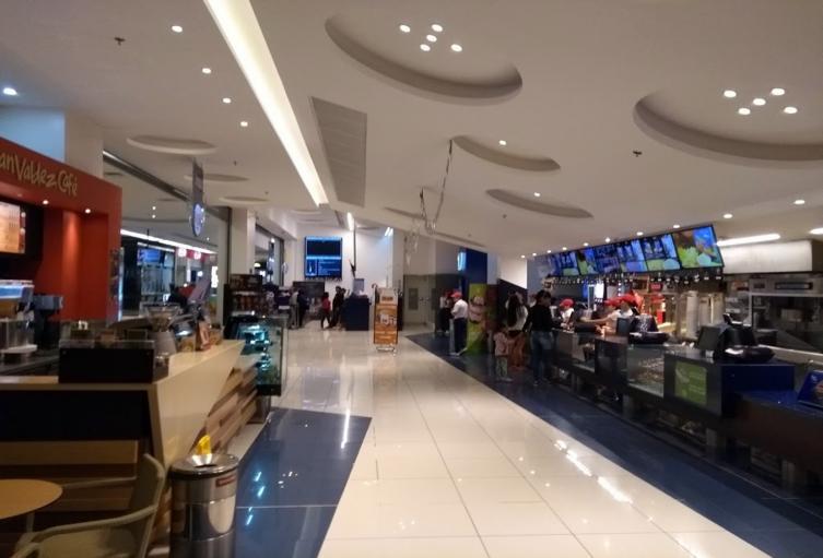Centro comercial La Estación Cine Colombia