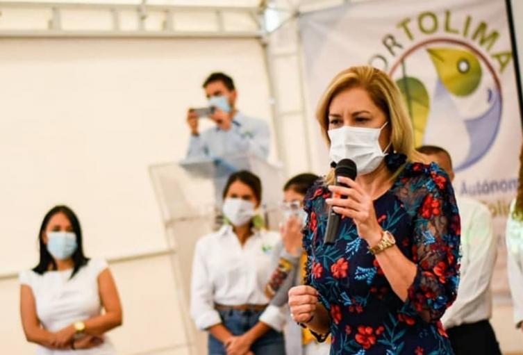 Olga Lucía Alfonso - directora de Cortolima