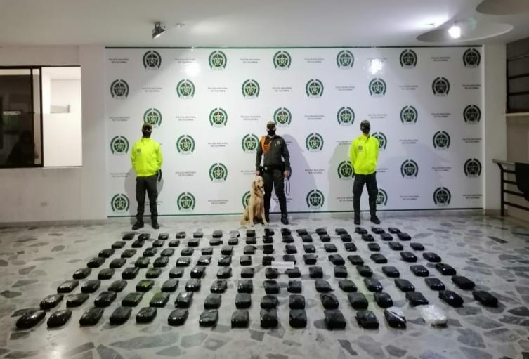 Pretendían enviar 126 kilos de marihuana en empresa de encomiendas de Ibagué