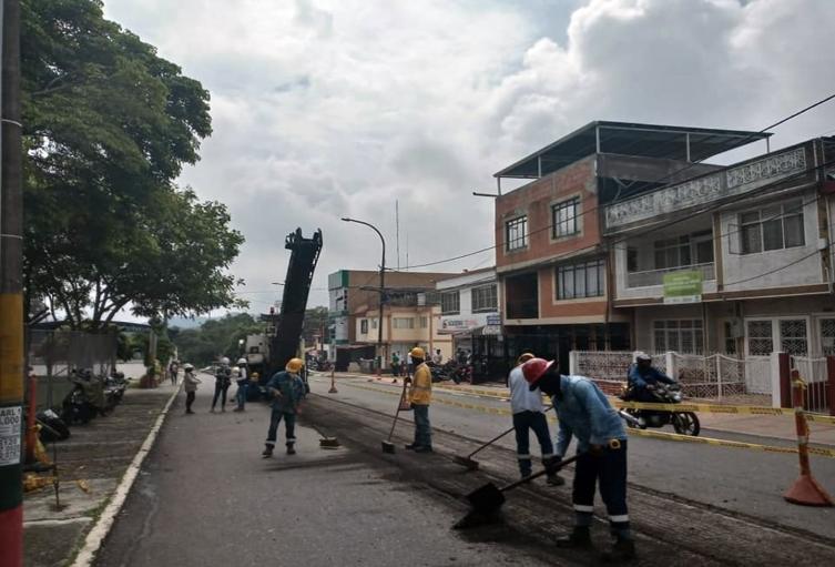 Intervención de la malla vial en Ibagué  2