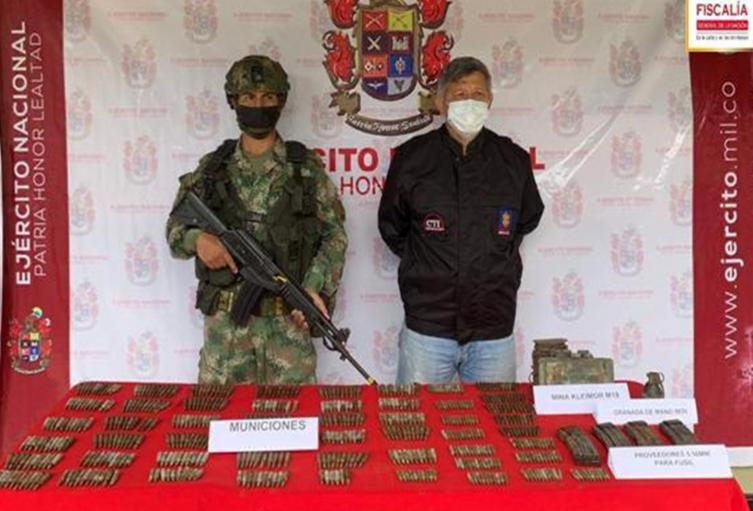 Ubican deposito ilegal del grupo delincuencial 'San Luis' en el Guamo