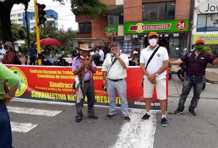 La clase trabajadora sigue insistiendo que las decisiones del gobierno nacional afecta los intereses de las familias colombianas