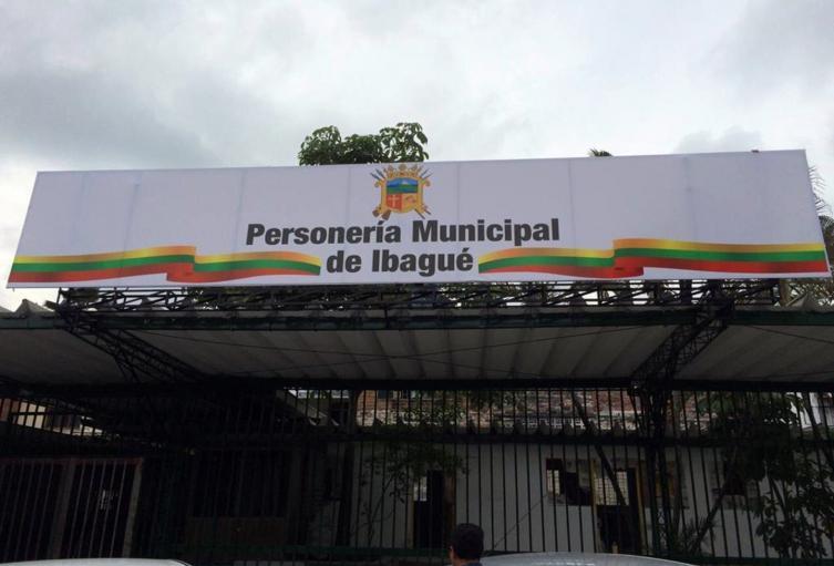 Personería de Ibagué.