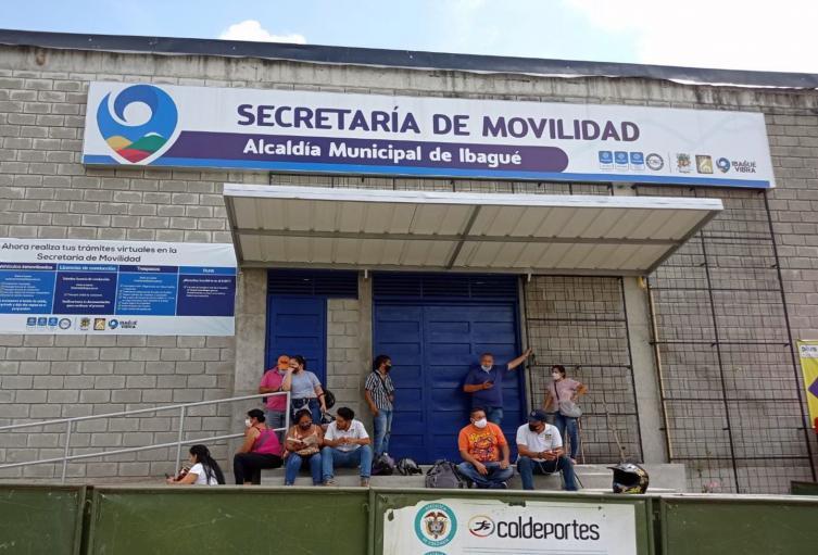 Secretaría de Movilidad Ibagué